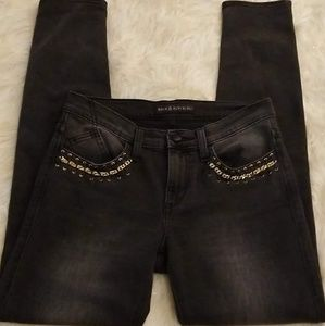 ROCK AND REPUBLIC BERLIN SKINNY CHAIN JEANS